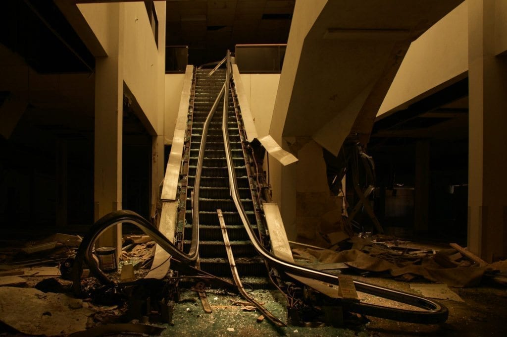 Abandoned mall Seph Lawless